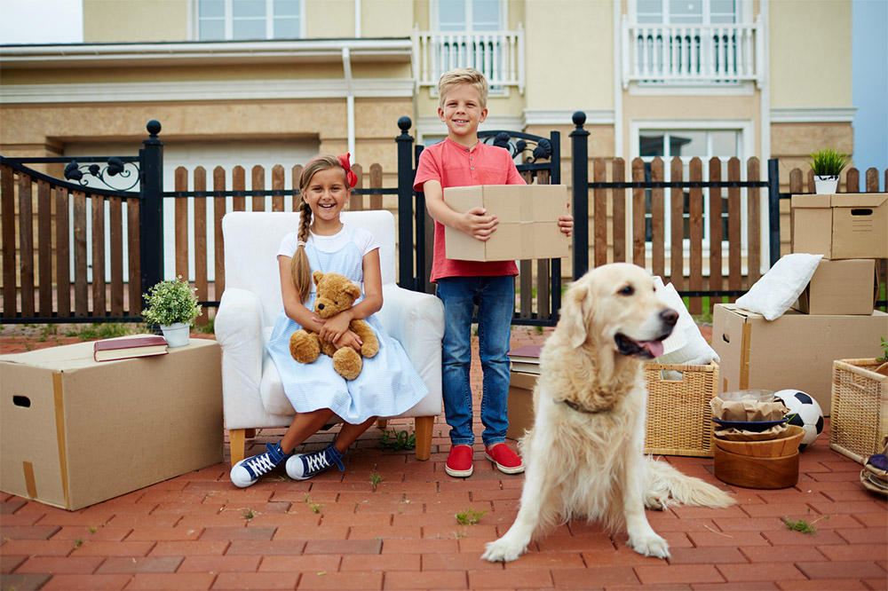 Moving Home Children Pets