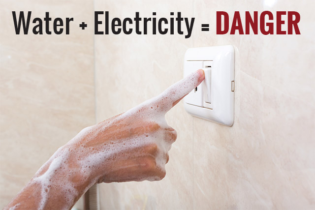 Water Electricity Danger